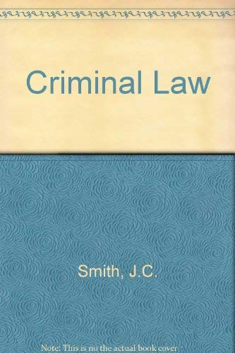 9780406658043: Criminal Law