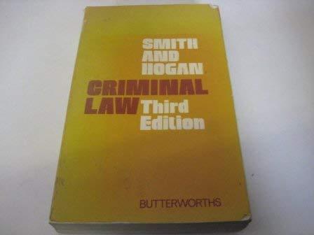 9780406658050: Criminal Law