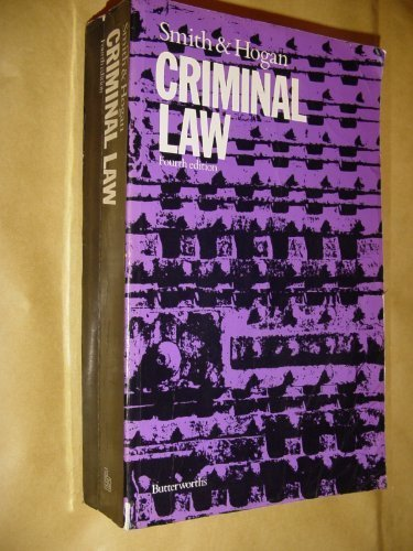 Criminal Law: Hogan, Brian, Smith,