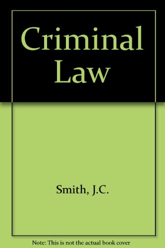 9780406658111: Smith & Hogan: Criminal Law