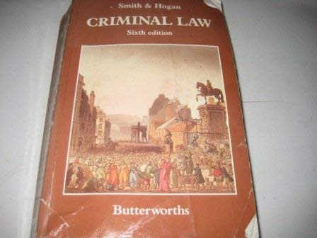 9780406658128: Smith and Hogan Criminal Law