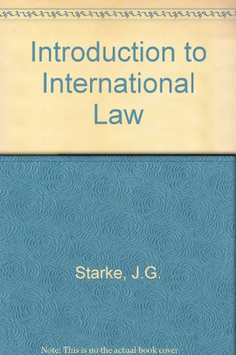 9780406659552: Introduction to International Law