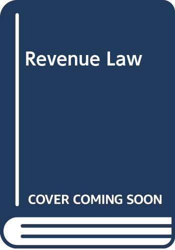 9780406665966: Revenue Law