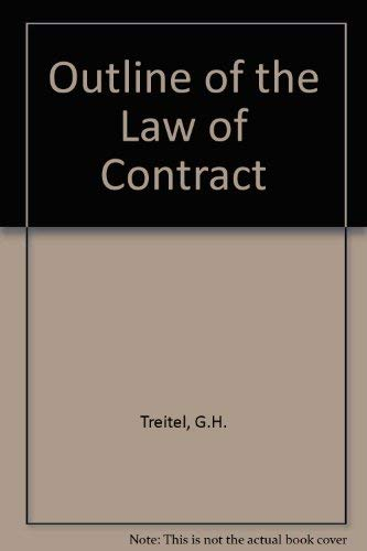 9780406668462: Outline of the Law of Contract
