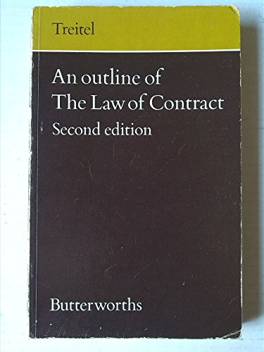 9780406668479: Outline of the Law of Contract