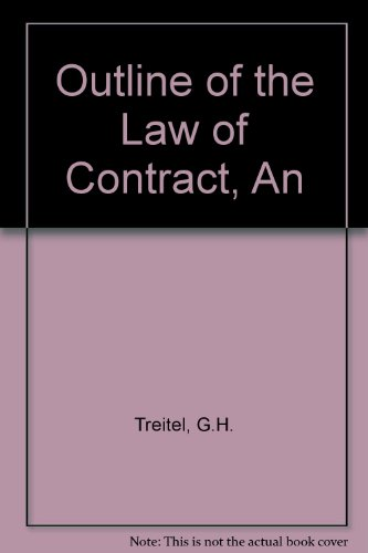 9780406668493: OUTLINE OF THE LAW OF CONTRACT