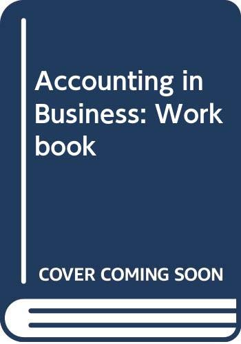 Accounting in Business: R J Bull