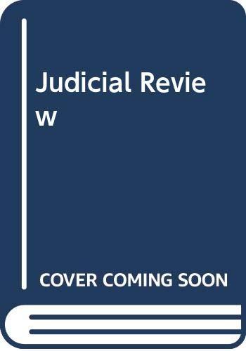 9780406893024: Judicial Review