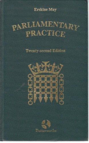 9780406895875: Parliamentary Practice