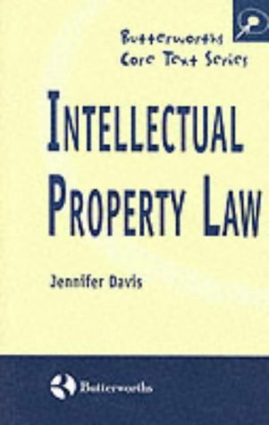 9780406895912: Intellectual Property Law (Butterworths Core Texts)