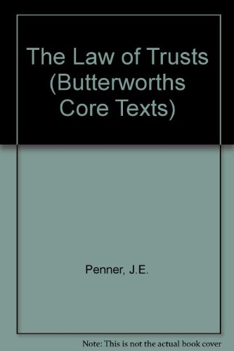 9780406896339: The Law of Trusts (Butterworths Core Texts)