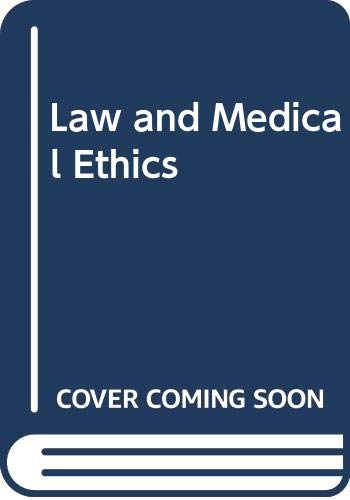 9780406896360: Law and Medical Ethics