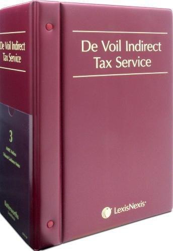 9780406899774: De Voil Indirect Tax Service
