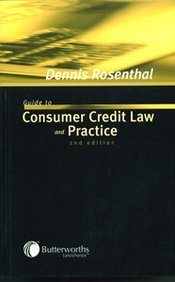 9780406903211: Guide to Consumer Credit Law and Practice