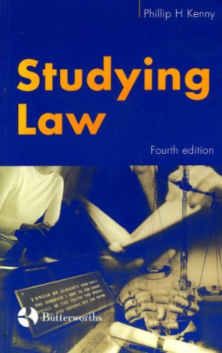 Studying Law: Kenny, Phillip H.