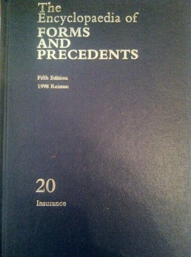 The Encyclopaedia of Forms and Precedents: Volume 20: Millett, Peter
