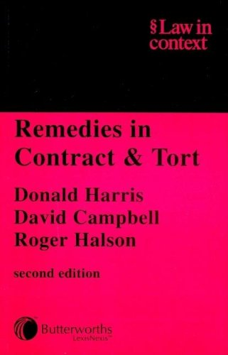 9780406904102: Remedies in Contract and Tort (Law in Context)