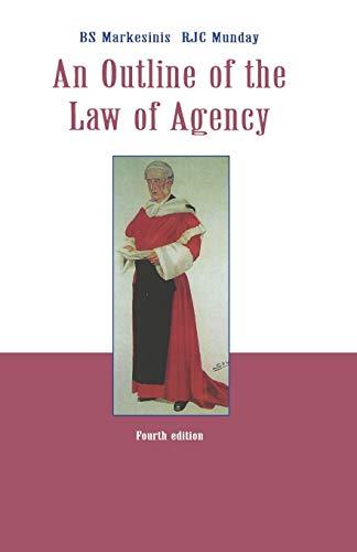 9780406904126: Outline Law Agency 4E.P.