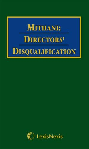 Director's Disqualification: Bamford, Jeremy; Cunningham, Mark; Davis, Stephen; Joffe, Victor;...