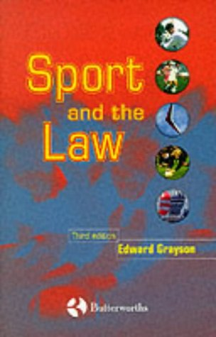 9780406905055: Sport and the Law