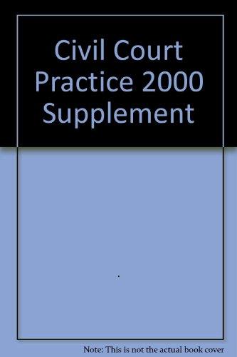 The Civil Court Practice 2000