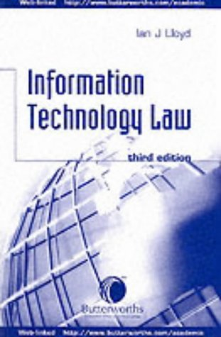 9780406914897: Information Technology Law