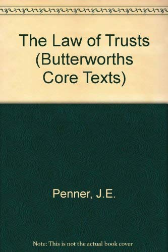 9780406915993: The Law of Trusts (Butterworths Core Texts)