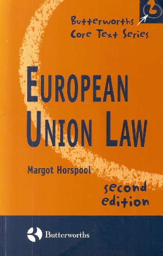 9780406916013: European Union Law (Butterworths Core Texts)