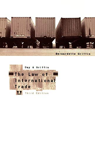 9780406921833: The Law of International Trade