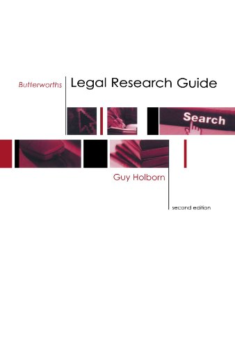 9780406930231: Butterworths Legal Research Guide