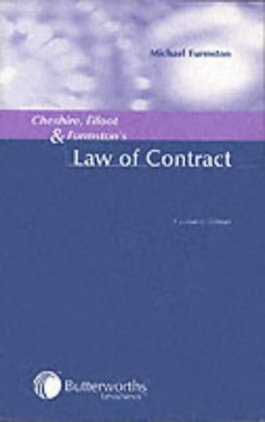 9780406930583: Cheshire, Fifoot and Furmston's Law of Contract