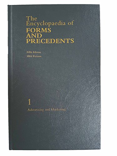 9780406937780: The Encyclopaedia of Forms and Precedents