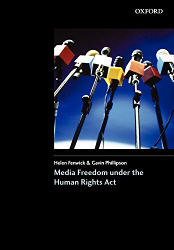 9780406942890: Media Freedom Under the Human Rights Acts