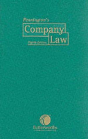 9780406942906: Pennington's Company Law