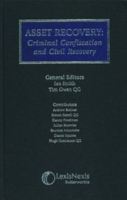 9780406946461: Asset Recovery: Criminal Confiscation and Civil Recovery