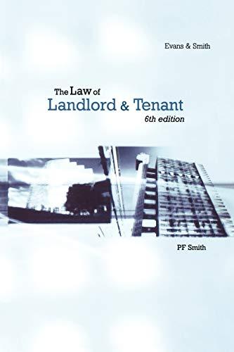 9780406946799: Law Of Landlord & Tenant