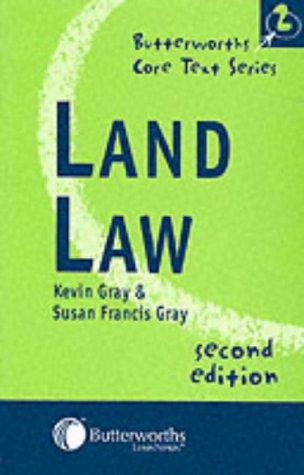 9780406946850: Land Law (Butterworths Core Texts)