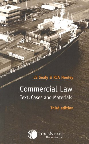 9780406950031: Commercial Law: Text, Cases and Materials