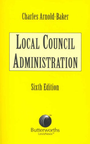 9780406952981: Local Council Administration