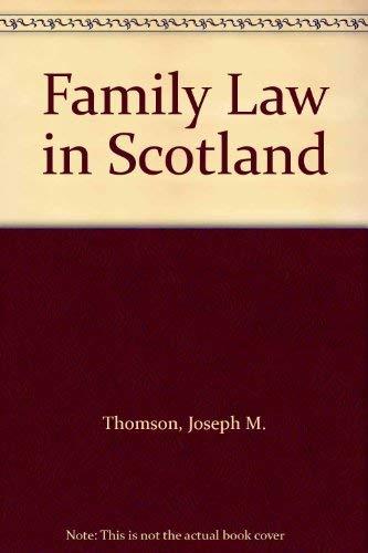 9780406955678: Family Law in Scotland