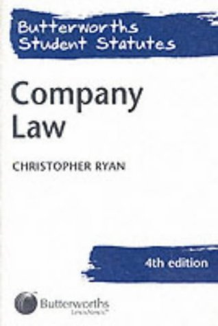 9780406959430: Company Law (Butterworths Student Statutes)