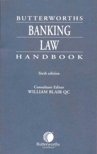 9780406962379: Butterworths Banking Law Handbook