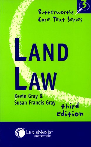 9780406963772: Land Law (Core Texts Series)