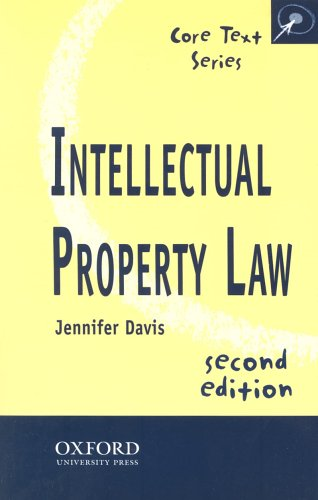 9780406963796: Intellectual Property Law (Core Texts Series)