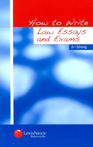 9780406964021: How to Write Law Essays and Exams