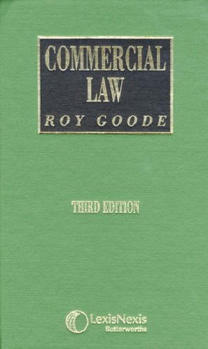 9780406964366: Commercial Law