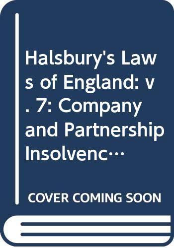 Halsbury's Laws of England: Volume 7 (3): Lord Mackay of Clashfern