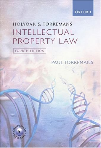 9780406973610: Holyoak and Torremans: Intellectual Property Law