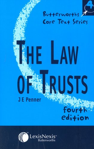 9780406973641: The Law of Trusts (Core Texts Series)