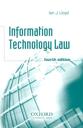 9780406975782: Information Technology Law